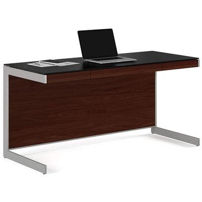 BDI Sequel  Desk Chocolate Stained Walnut