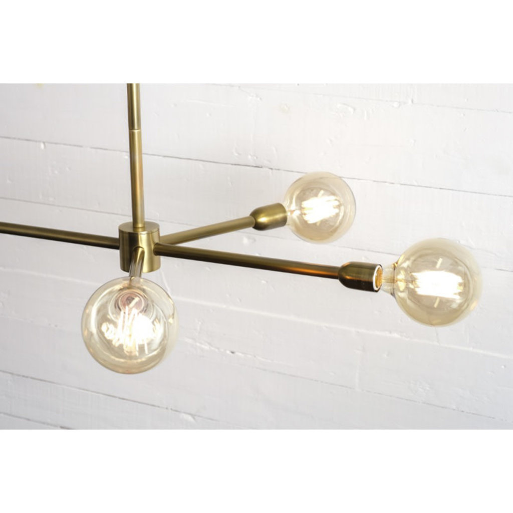 Four Hands Robinson Chandelier- Antique Brass