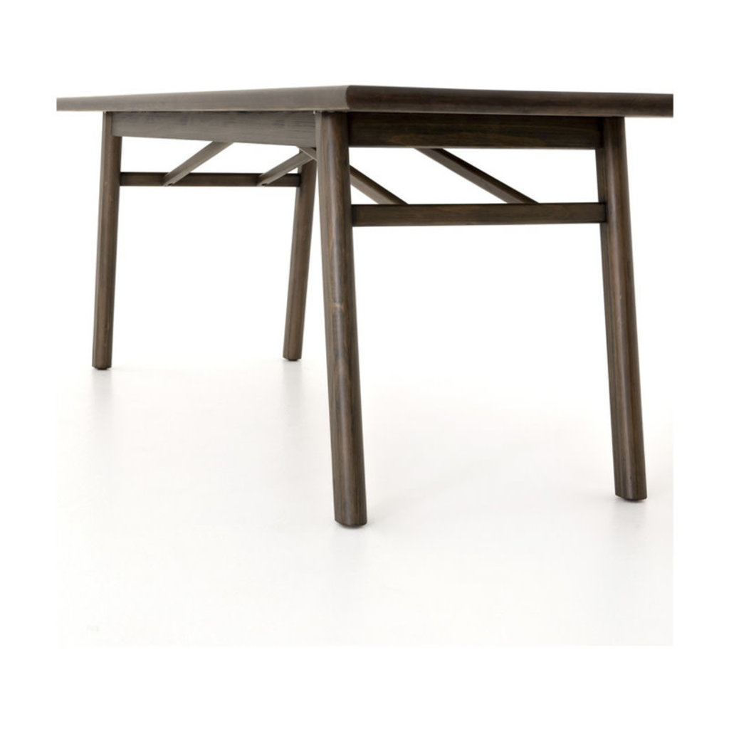 Four Hands Audrey Dining Table Espresso Pine
