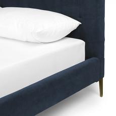 Four Hands Rennie Tall Queen Bed-Plush Navy