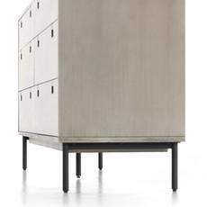 Four Hands Carly 6 Drawer Dresser-Grey Wash