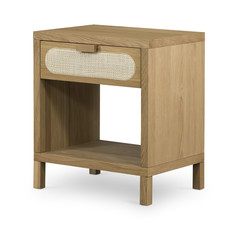 Four Hands Allegra Nightstand-Natural Cane