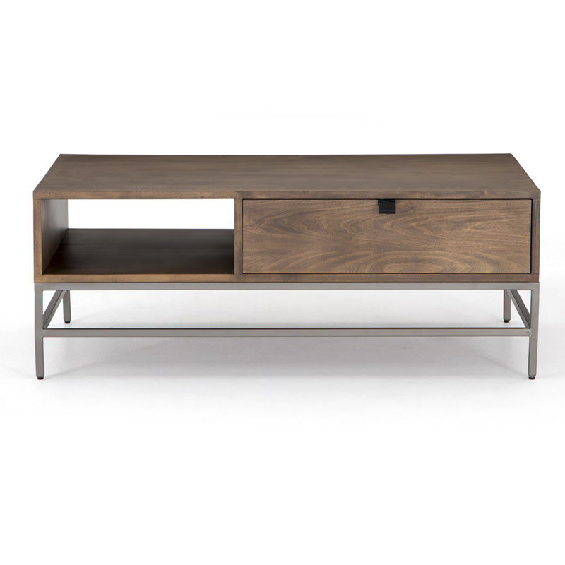 Four Hands Trey Coffee Table-Auburn Poplar