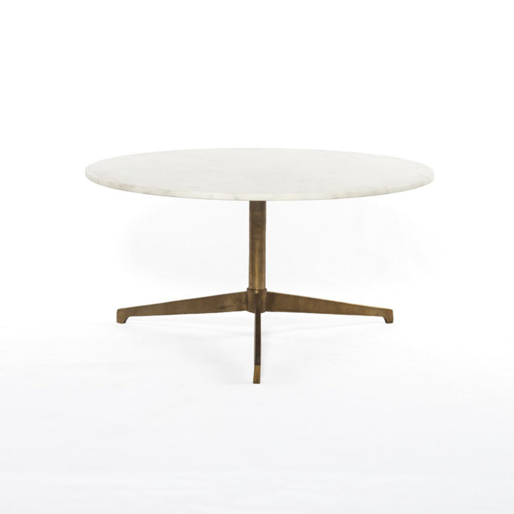 Four Hands Helen Round Coffee Table