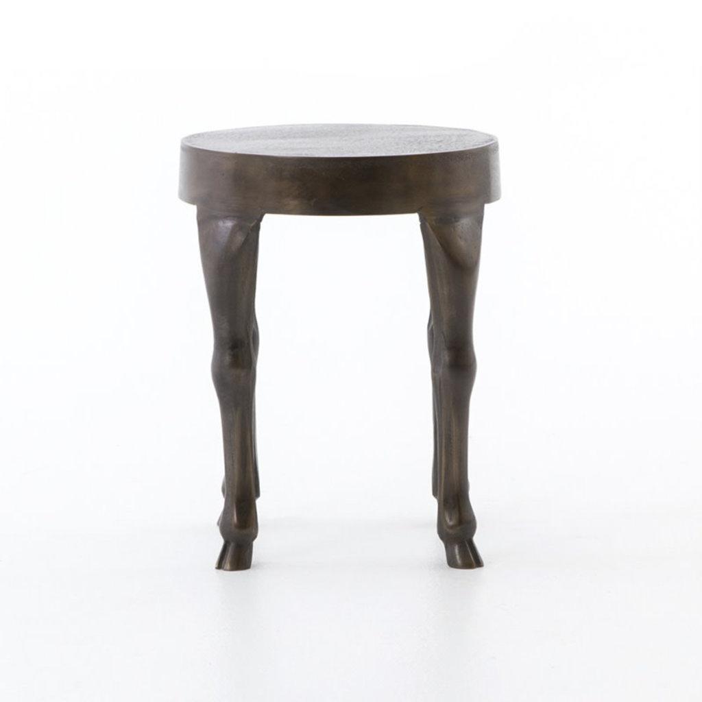 Four Hands Hopedale End Table-Antique Rust