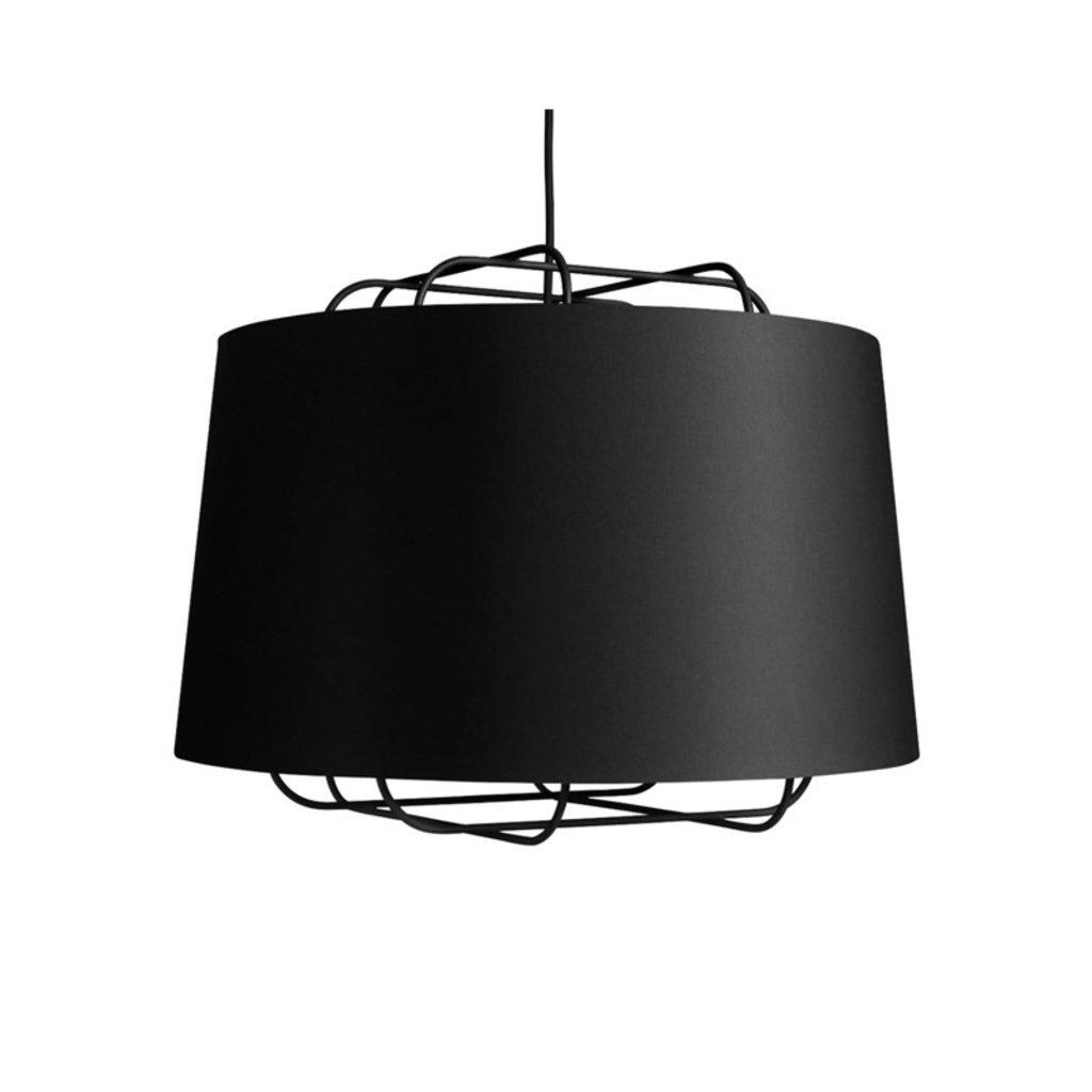 BluDot Perimeter Large pendant Lamp Black