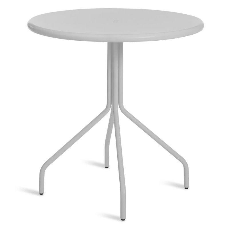 "BluDot Hot Mesh 30"" Cafe Table Off White"