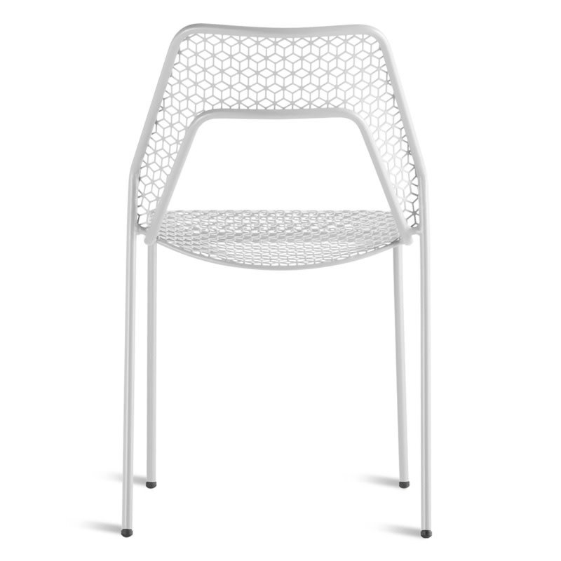BluDot Hot Mesh Chair Off White