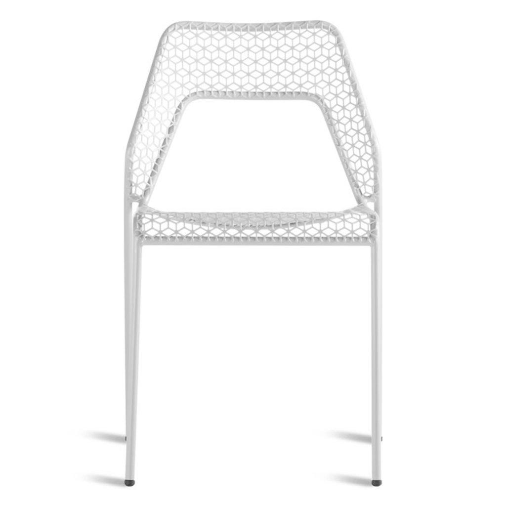 BluDot Hot Mesh Chair Off White