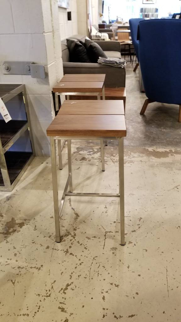 Gus Design Group Inc Stanley Counter Stool Walnut