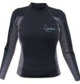 Stohlquist 1mm CoreHEATER Shirt, Women's, Black/Gray