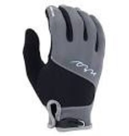 NRS NRS Mens HydroSkin Glove, Gray Heather,