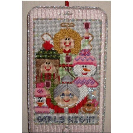 Girls Night Out Selfie Ornament - Not Stitched