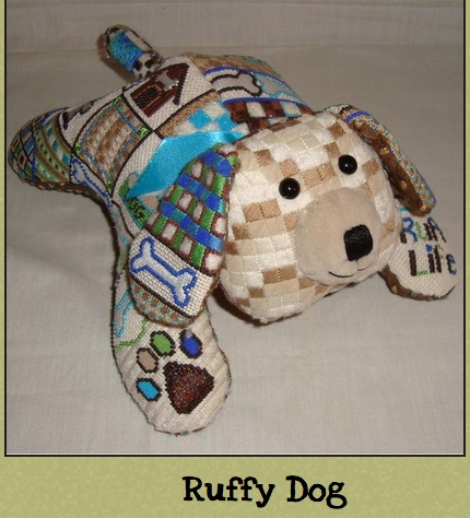 3-D Ruffy Puppy