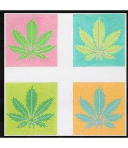 Weed Coasters - Set of 4