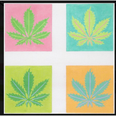 Weed Coasters - Set of 4