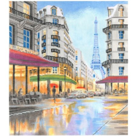 Paris France Street Scene