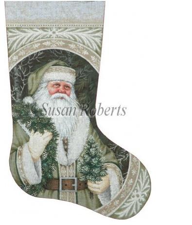 Evergreen Santa 18 Count