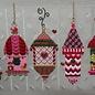 Christmas Bird Houses w/ Stitch Guide