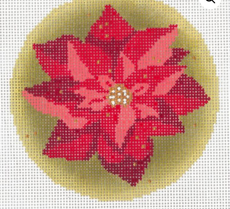 Christmas Ornament Poinsettias