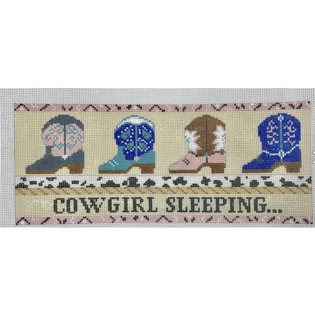 Cowgirl Sleeping