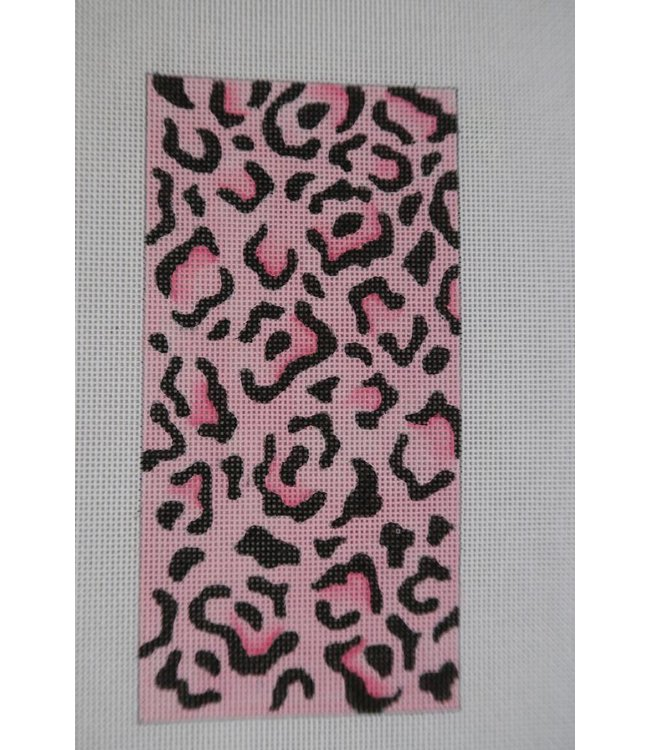 Eye Glass Case Pink and Black Flowers