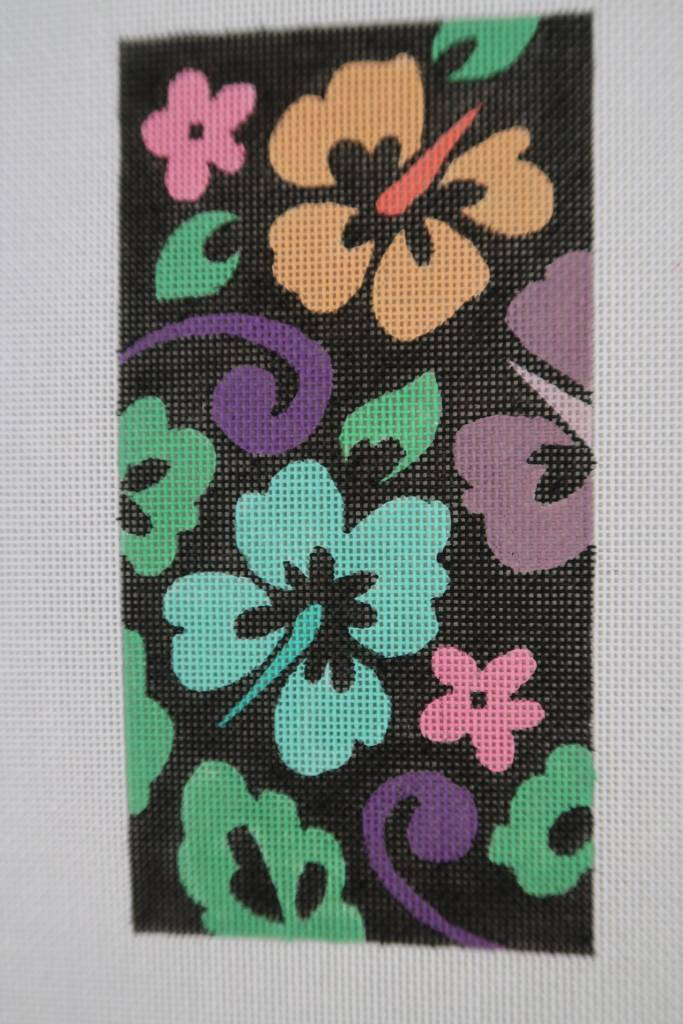 Eye Glass Case Pink and Green Floral