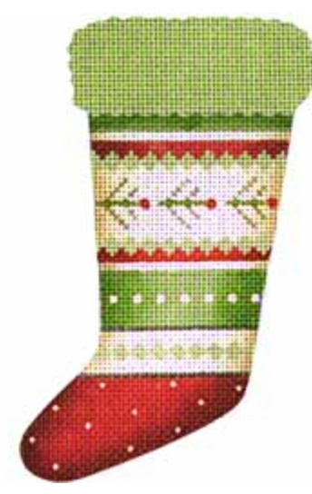 Sprig Sock Ornament