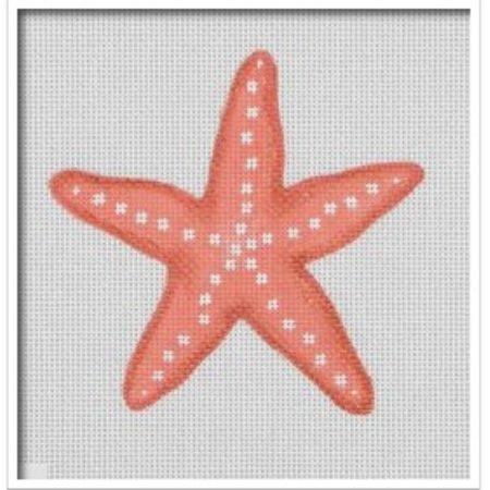 Coral Seaside Starfish