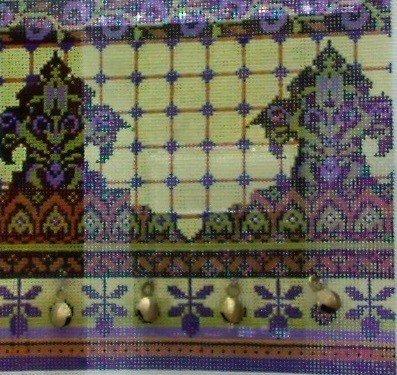 Geometric Purple w/ Bells