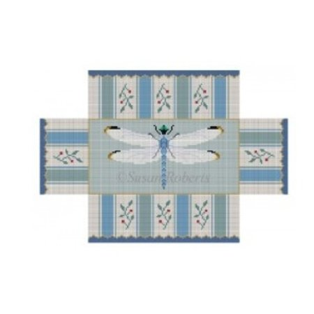 Dragonfly Brick Cover - Blues