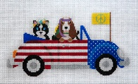 Pets on Patriotic Peace Tour