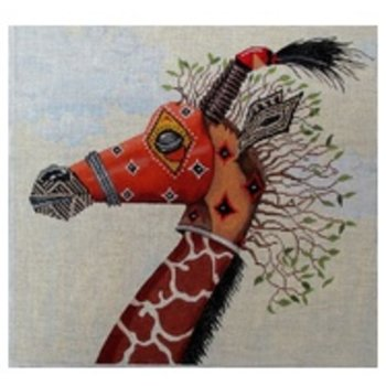 Tribal Mask - Giraffe