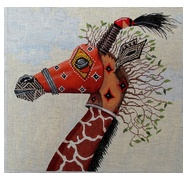 Tribal Mask - Giraffe