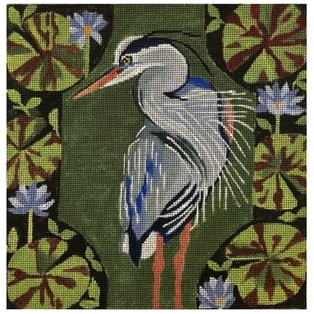 Heron in Greens