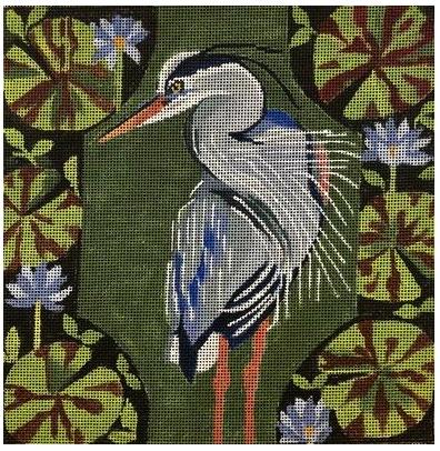 Heron in Greens