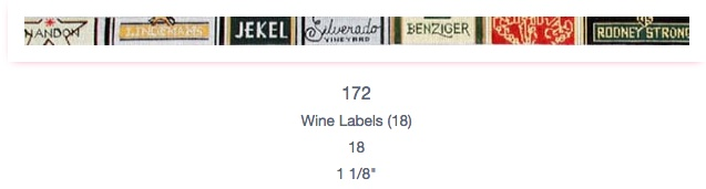 Wine Labels Belt