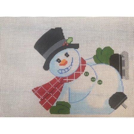 Tumbling Snowman - B
