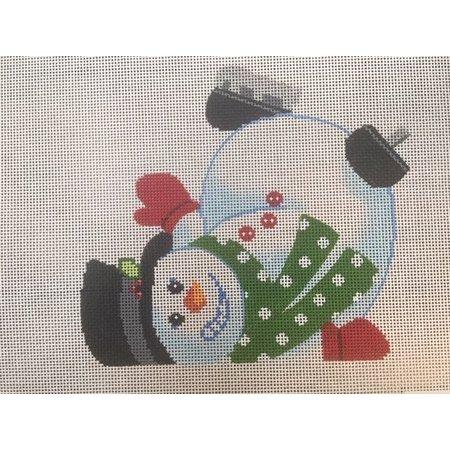 Tumbling Snowman - C