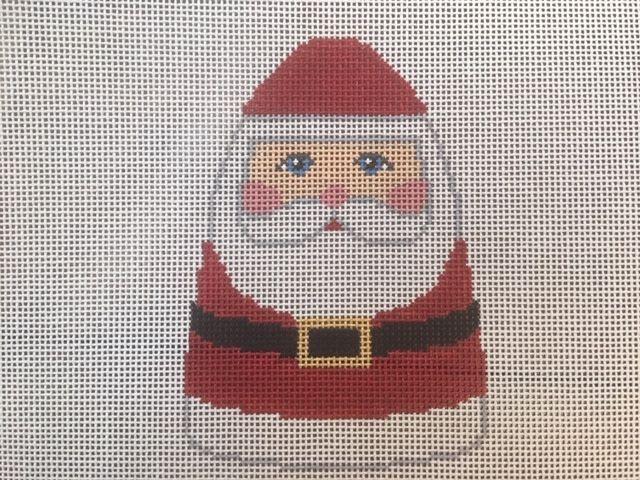 Pudgy Santa Ornament