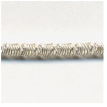 Crimped Purl #13 (Silver) 15""