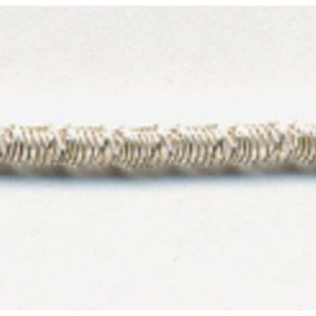 """Crimped Purl #7 (Silver) 16"""" Matte"""