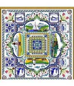 The Holland Springtime Garden Mandala