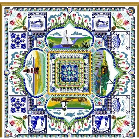 The Holland Springtime Garden Mandala