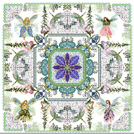 The Fairy Flower Garden Mandala