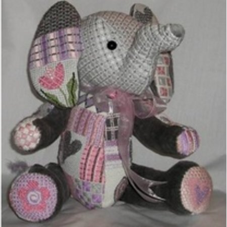 3-D Ellie the Elephant