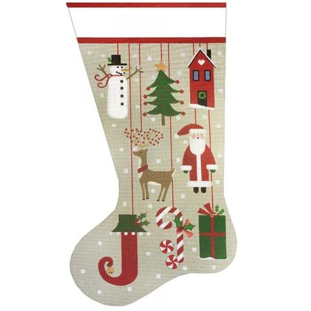 Primitive Ornament Sock