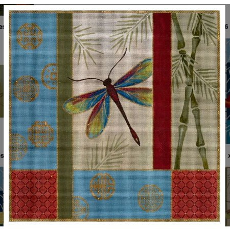 Dragonfly, Bamboo & More Coins