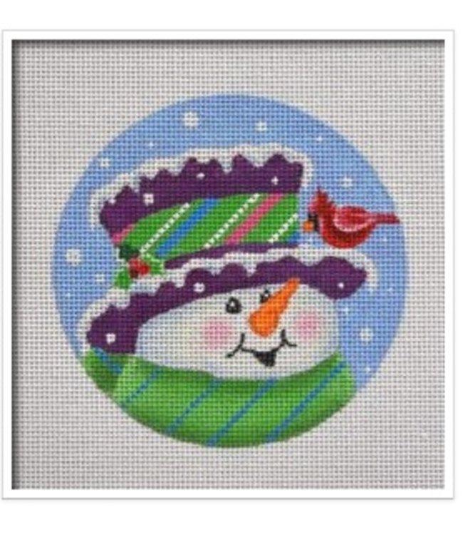 Topper Snowman Ornament