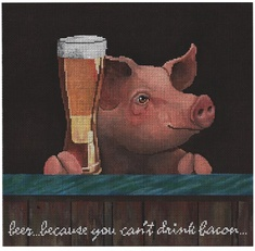 Pig with a Beer